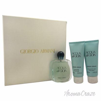 Picture of Acqua Di Gioia by Giorgio Armani for Women - 3 Pc Gift Set 1.7oz EDP Spray, 2.5oz Shower Gel, 2.5oz Body Lotion