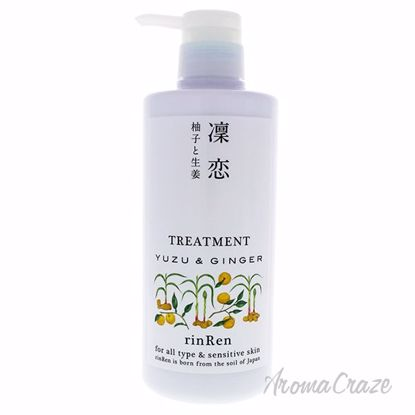 Yuzu and Ginger Treatment by RinRen for Unisex - 17.5 oz Tre