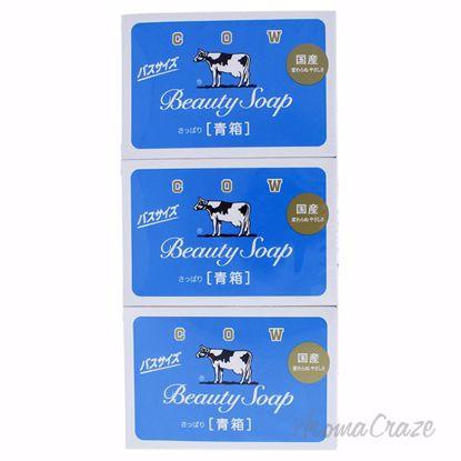 Beauty Soap Blue by Cow Brand for Women - 3 x 4.76 oz Soap