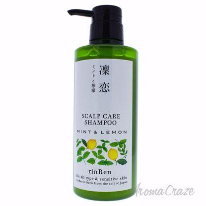 Scalp Care Shampoo Mint and Lemon by RinRen for Unisex - 13.