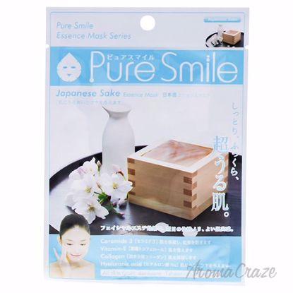 Essence mask - Japanese Sake by Pure Smile for Women - 0.8 o