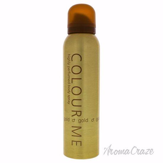 Colour Me Homme Gold by Milton-Lloyd for Men - 5.1 oz Body S