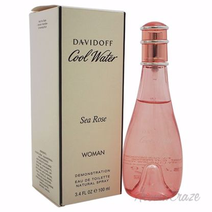 Cool Water Sea Rose by Davidoff for Women - 3.4 oz EDT Spray