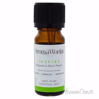 Picture of Inspire Essential Oil by Aromaworks for Unisex - 10 ml Essential Oil
