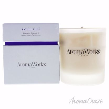 Soulful Candle Medium by Aromaworks for Unisex - 10.1 oz Can