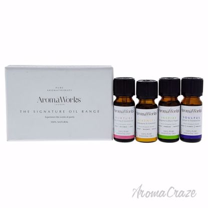 Signature Range Essential Oil Set by Aromaworks for Unisex -