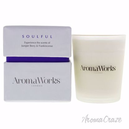 Soulful Candle Small by Aromaworks for Unisex - 3.4 oz Candl