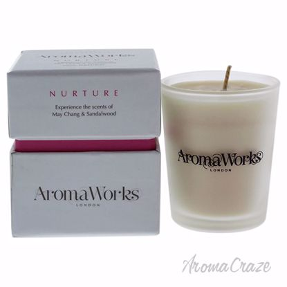 Nurture Candle Small by Aromaworks for Unisex - 3.4 oz Candl