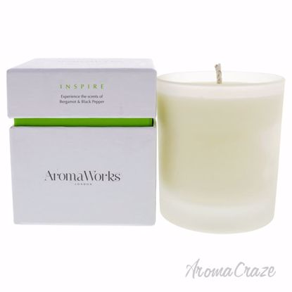 Inspire Candle Medium by Aromaworks for Unisex - 10.1 oz Can