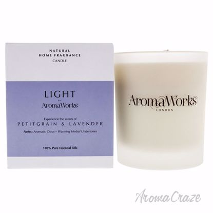 Light Range Candle - Petitgrain and Lavender by Aromaworks f