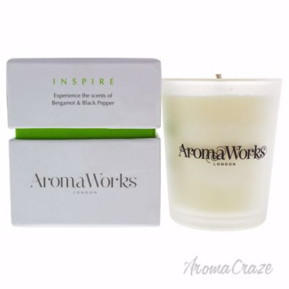 Inspire Candle Small by Aromaworks for Unisex - 3.4 oz Candl