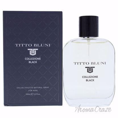 Collezione Black by Titto Bluni for Men - 3.4 oz EDT Spray