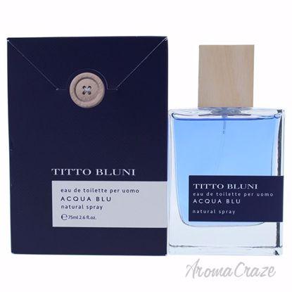Acqua Blu by Titto Bluni for Men - 2.6 oz EDT Spray