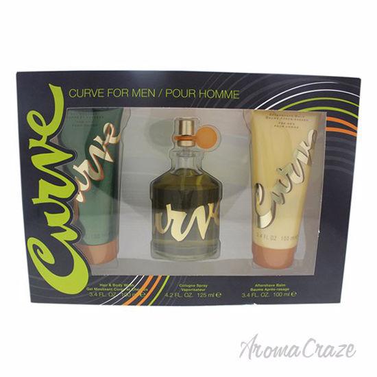 Curve by Liz Claiborne for Men - 3 Pc Gift Set 4.2oz Cologne