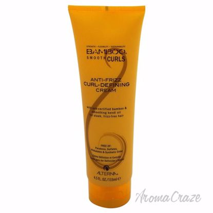 Bamboo Anti-Frizz Curl-Defining Cream by Alterna for Unisex