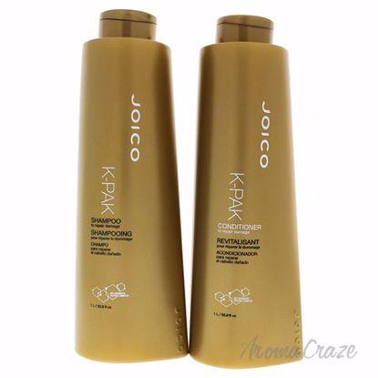 K-Pak Kit by Joico for Unisex - 2 Pc Kit 33.8 oz Shampoo, 33