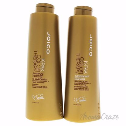 K-Pak Color Therapy kit by Joico for Unisex - 2 Pc Kit 33.8