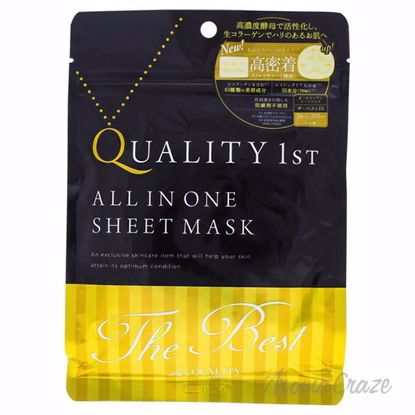 Quality 1st All in One Sheet Mask The Best by Quality First