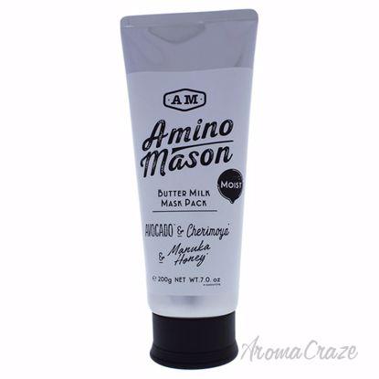 Moist Butter Milk Mask Pack by Amino Mason for Unisex - 7 oz