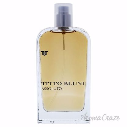 Assoluto Uomo by Titto Bluni for Men - 2.6 oz EDT Spray (Tes