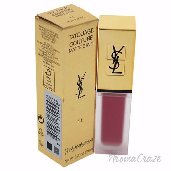 Picture of Tatouage Couture Liquid Matte Lip Stain - 11 Rose Illicite by Yves Saint Laurent for Women - 0.2 o