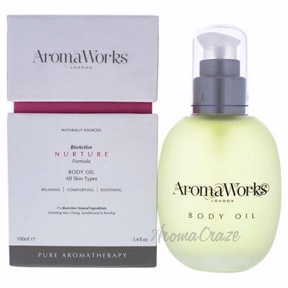 Nurture Body Oil by Aromaworks for Unisex - 3.4 oz Body Oil