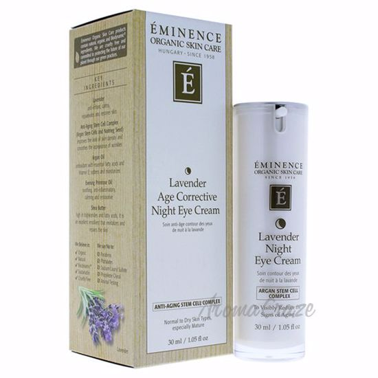 Picture of Lavender Age Corrective Night Eye Cream by Eminence for Unisex - 1.05 oz Cream