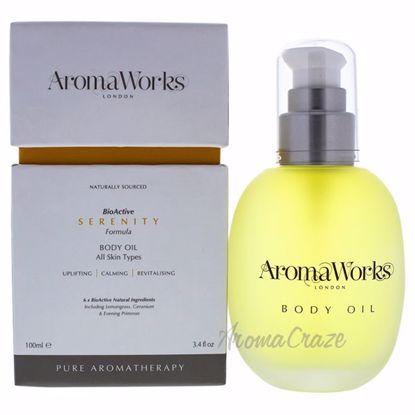 Serenity Body Oil by Aromaworks for Unisex - 3.4 oz Body Oil