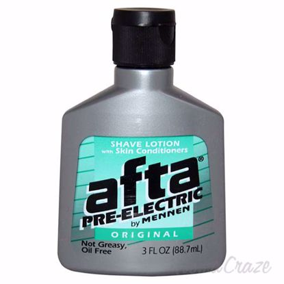 Picture of Afta Pre-Electric Shave Lotion With Skin Conditioners Not Greasy Oil Free by Mennen for Men - 3 oz Shave Lotion