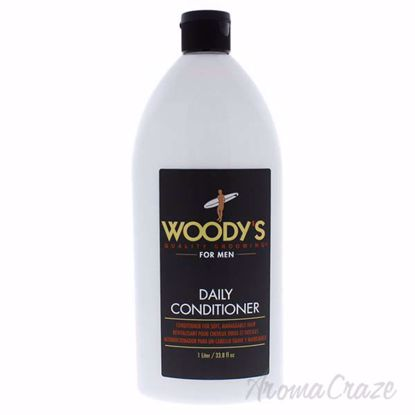 Daily Conditioner by Woodys for Men - 33.8 oz Conditioner