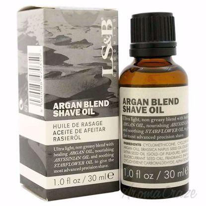 Picture of Argan Blend Shave oil by Lock Stock and Barrel for Men - 1 oz Shave Oil
