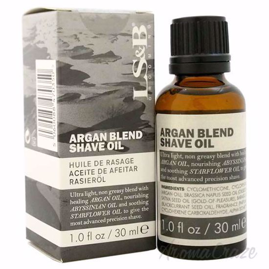 Argan Blend Shave oil by Lock Stock and Barrel for Men - 1 o