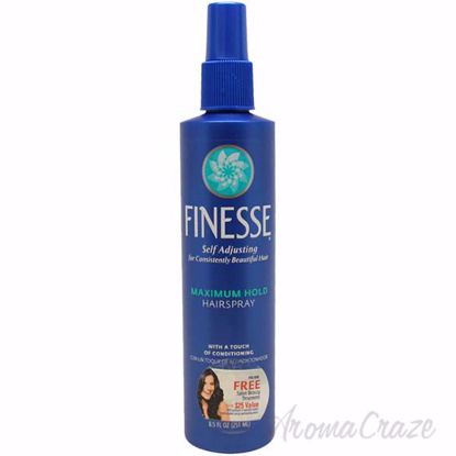 Self Adjusting Maximum Hold Hairspray by Finesse for Unisex