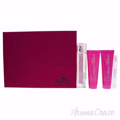 Heiress by Paris Hilton for Women - 4 Pc Gift Set 3.4oz EDP