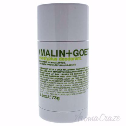 Picture of Eucalyptus Deodorant Stick by Malin + Goetz for Unisex - 2.6 oz Deodorant Stick
