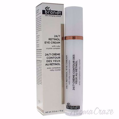24/7 Retinol Eye Cream by Dr. Brandt for Women - 0.5 oz Crea