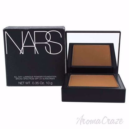 Picture of All Day Luminous Powder Foundation SPF 24 - 01 Syracuse - Medium-Dark by NARS for Women - 0.42 oz Fo