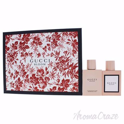 de90f4da1 Gucci Bloom by Gucci for Women - 2 Pc Gift Set 1.6oz EDP Spray, 3.3oz  Perfumed Body Lotion