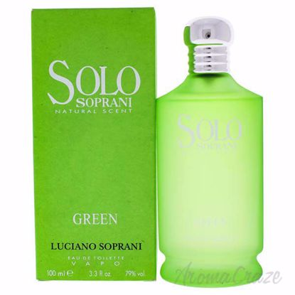 Picture of Solo Soprani Green by Luciano Soprani for Women - 3.4 oz EDT Spray