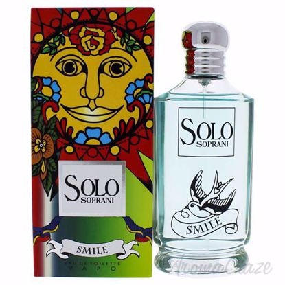 Picture of Solo Soprani Smile by Luciano Soprani for Women - 3.4 oz EDT Spray
