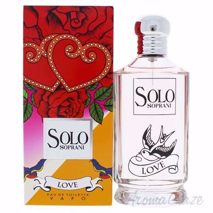 Picture of Solo Soprani Love by Luciano Soprani for Women - 3.4 oz EDT Spray
