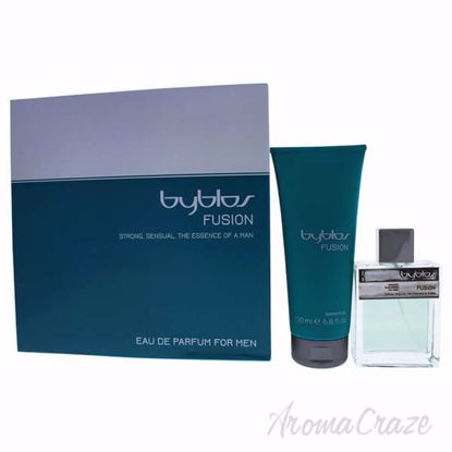 Fusion by Byblos for Men - 2 Pc Gift Set 3.4oz EDP Spray, 6.