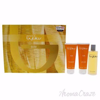 Elementi Di Sole by Byblos for Women - 3 Pc Gift Set 4.0oz E