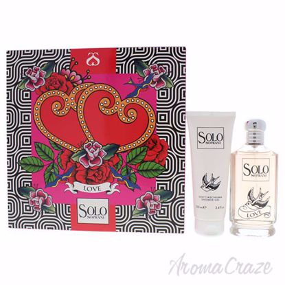 Picture of Solo Soprani Love by Luciano Soprani for Women - 2 Pc Gift Set 3.3oz EDT Spray, 3.4oz Shower Gel