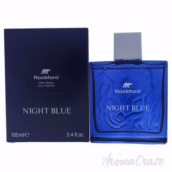 Night Blue Aftershave Lotion by Rockford for Men - 3.4 oz Af