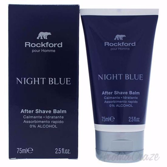 Night Blue Aftershave Balm by Rockford for Men - 2.5 oz Afte