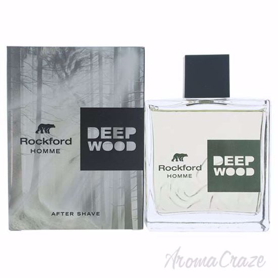 Deep Wood Aftershave Lotion by Rockford for Men - 3.4 oz Aft