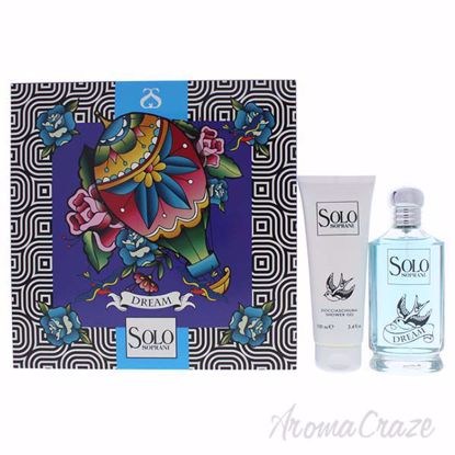 Picture of Solo Soprani Dream by Luciano Soprani for Women - 2 Pc Gift Set 3.3oz EDT Spray, 3.4oz Shower Gel