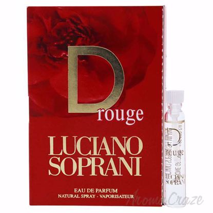 Picture of D Rouge by Luciano Soprani for Women - 1.9 ml EDP Spray Vial (Mini)