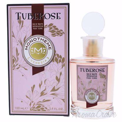 Tuberose by Monotheme for Women - 3.4 oz EDT Spray